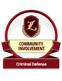 Recognized for Community Involvement