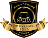Nominated Top Ten Attorney in Ohio