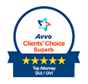 Superb Rating for Criminal Defense on Avvo