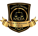 NACDA Top Ten Selection for Criminal Defense in Ohio