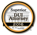 Nationally Ranked Superior DUI Attorney by the NAFDD